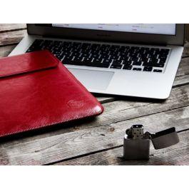 Obal na MacBook Pro 13 / Air Retina Red Ant Whiskey Aroma červený