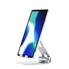 Stojánek na telefon / tablet / notebook Satechi Aluminium R1 - stříbrný