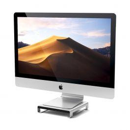 Stojánek (+ USB-C hub) pod monitor nebo iMac Satechi - stříbrný