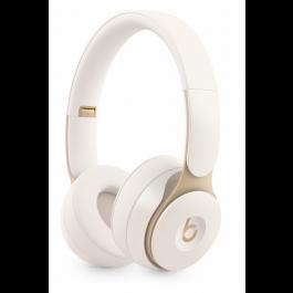 Bezdrátová sluchátka s potlačováním hluku Beats Solo Pro – slonovinová