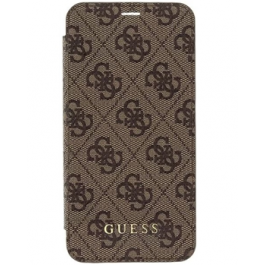 Guess Charms Book Case 4G Brown pro iPhone XS Max