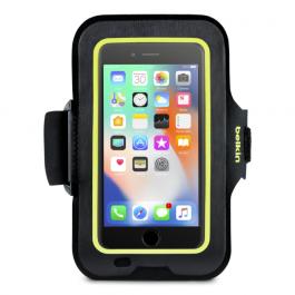 Sportovní pouzdro Belkin SportFit Plus iPhone 8+/7+/6+/6s+ černo žluté
