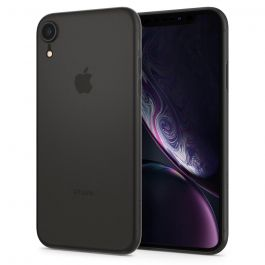 Kryt na iPhone XR Spigen Air Skin - černý
