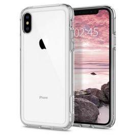 Kryt na iPhone Xs/X Spigen Crystal Hybrid - průhledný