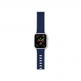 Silikonový řemínek pro APPLE WATCH 38/40mm EPICO - modrý