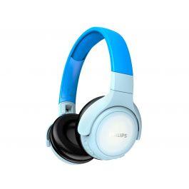 Bezdrátová sluchátka pro děti Philips TAKH402BL/00, modrá