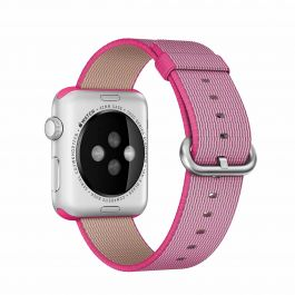 Apple Watch řemínek 42mm tkaný nylon růžový