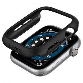 Kryt Spigen pro Apple Watch 4/5/6/SE 44mm Thin Fit - černý