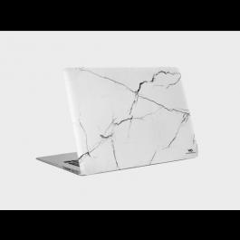 """Kryt na 13"""" MacBook Air (2016/2017) White Diamonds fortective Marble bílý"""