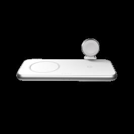 MagSafe hliníková bezdrátová nabíječka ZENS  45W 4 v 1 - bílá
