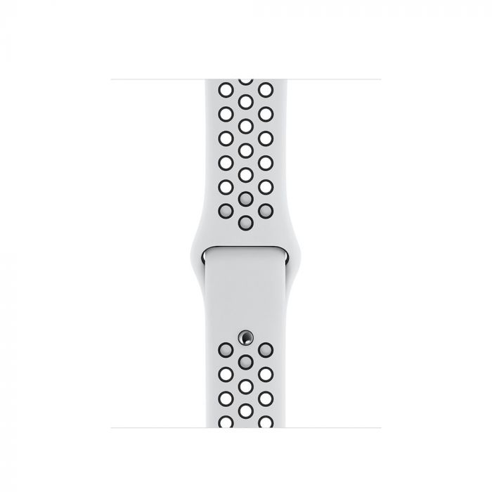 Apple Watch řemínek 40mm sportovní Nike platinovo černý