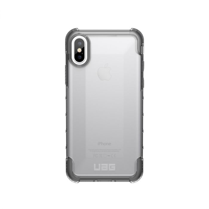 Odolný kryt na Apple iPhone X UAG Plyo průhledný  54aa0a86b78