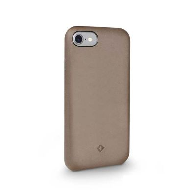 TwelveSouth Relaxed Leather Clip for iPhone 7 - Warm Taupe