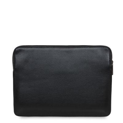 """Obal na MacBook 12"""" Knomo BARBICAN - černý"""