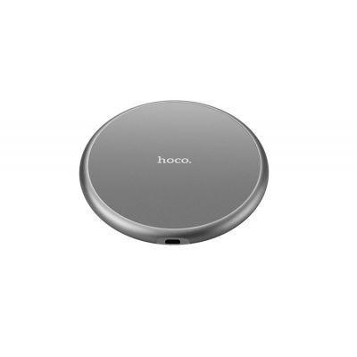 Qi bezdrátová nabíječka Hoco Wireless Charging Pad - stříbrná