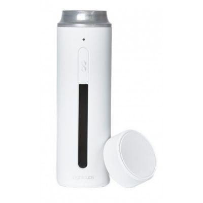 Chytrá láhev EightCups Smart Cup - bílá