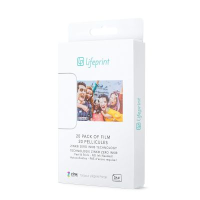 Fotofilm Lifeprint 3x4,5 – balíček po 20