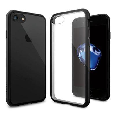 Kryt na iPhone 7 Spigen Ultra Hybrid - černý