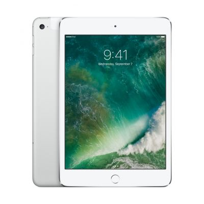 iPad mini 4 Wi-Fi + Cellular 128GB - stříbrný mk772fd/a
