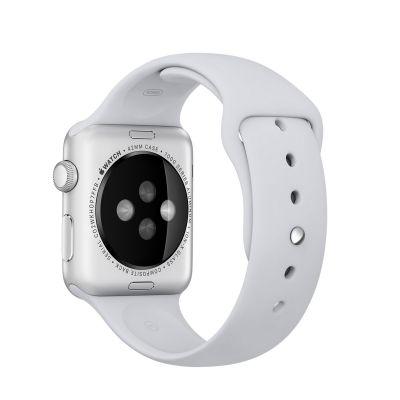 Apple - 42mm mlhově šedý sportovní řemínek – S/M a M/L