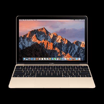 """MacBook 12"""" 256GB zlatý mlhe2cz/a (2016)"""