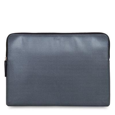 "Knomo EMBOSSED pouzdro pro 15"" MacBook Pro - stříbrné"