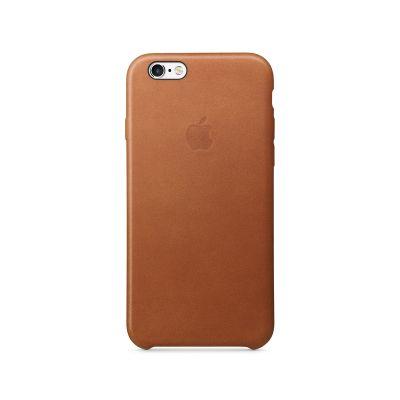 Apple kožený kryt na iPhone 6s - sedlově hnědý