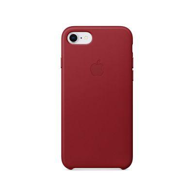 Apple kožený kryt na iPhone 8 / 7 – (PRODUCT)RED