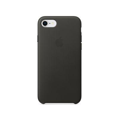 Apple kožený kryt na iPhone 8 / 7 – uhlově šedý