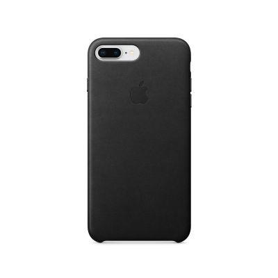 Apple kožený kryt na iPhone 8 Plus / 7 Plus – černý