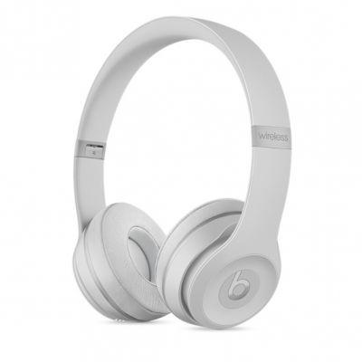 Bezdrátová sluchátka Beats Solo3 Wireless – matně stříbrná