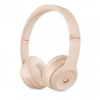 Bezdrátová sluchátka Beats Solo3 Wireless – matně zlatá