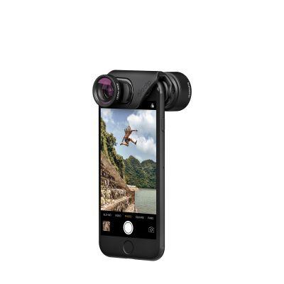 Sada objektivů pro iPhone 7 / 7 Plus OlloClip Active