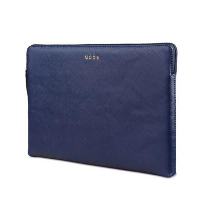 """dBramante kožený obal Paris - MacBook Air 13"""", večerně modrý"""