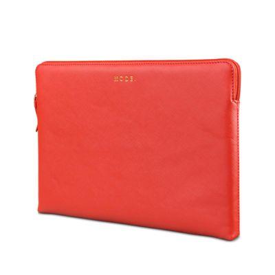 """dBramante kožený obal Paris - MacBook Pro 13"""", červená láva"""