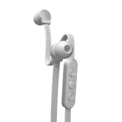 Sluchátka do uší a-JAYS Four + iOS - bílo stříbrná