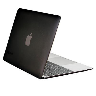 "Obal na MacBook 12"" Speck SeeThru - matně černý"