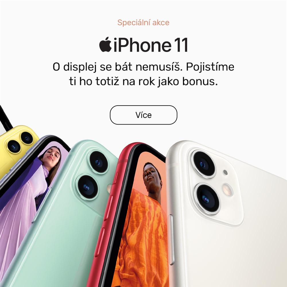 Akce na iPhone 11