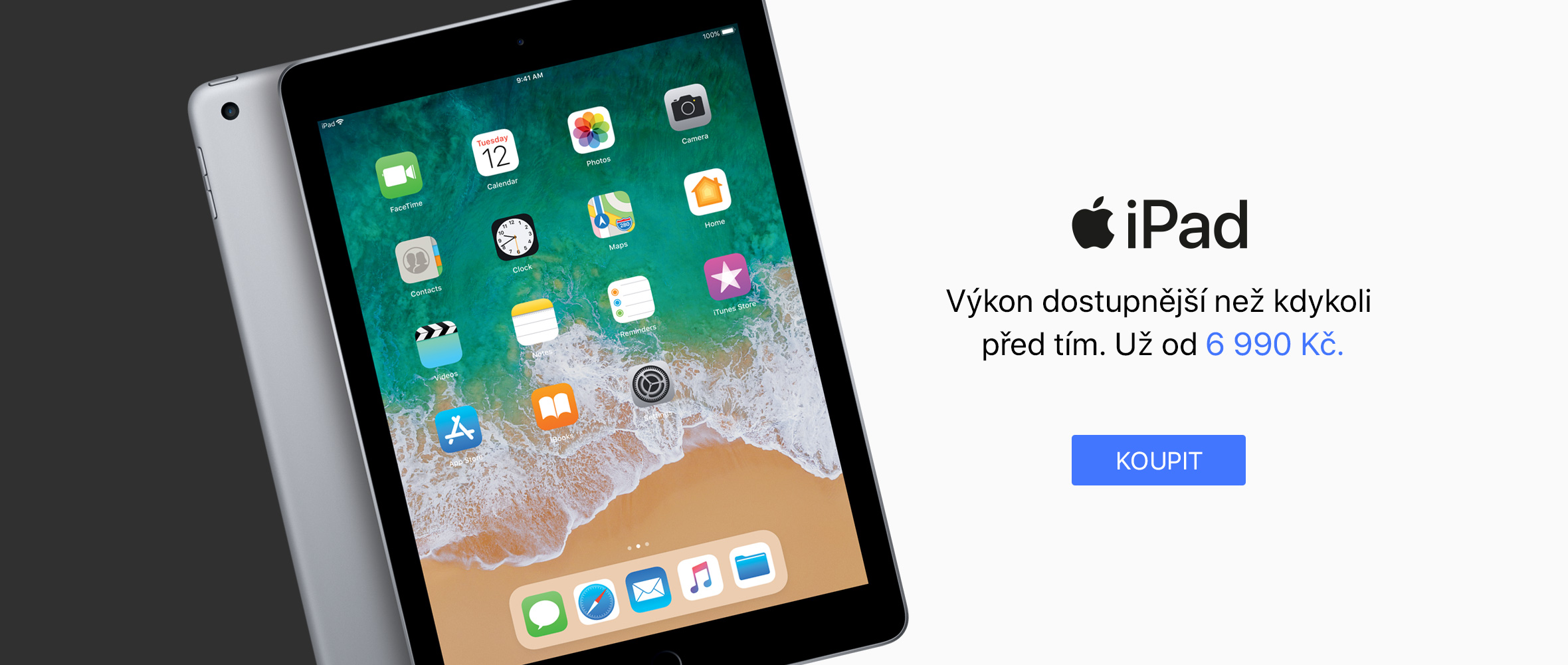 CZ iPad 5. generace