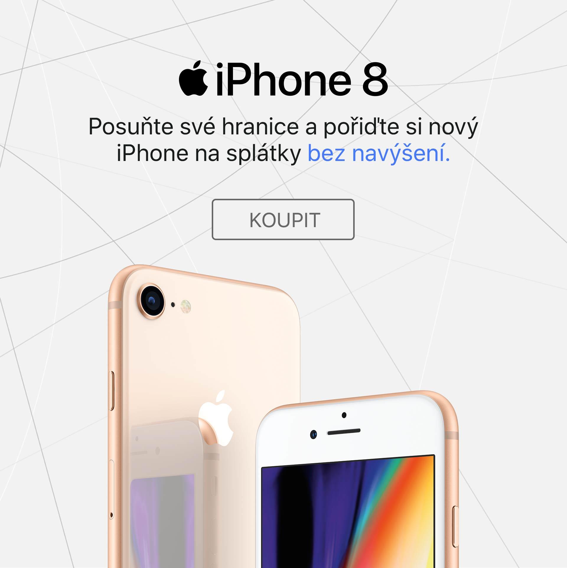 iPhone 8 splatky