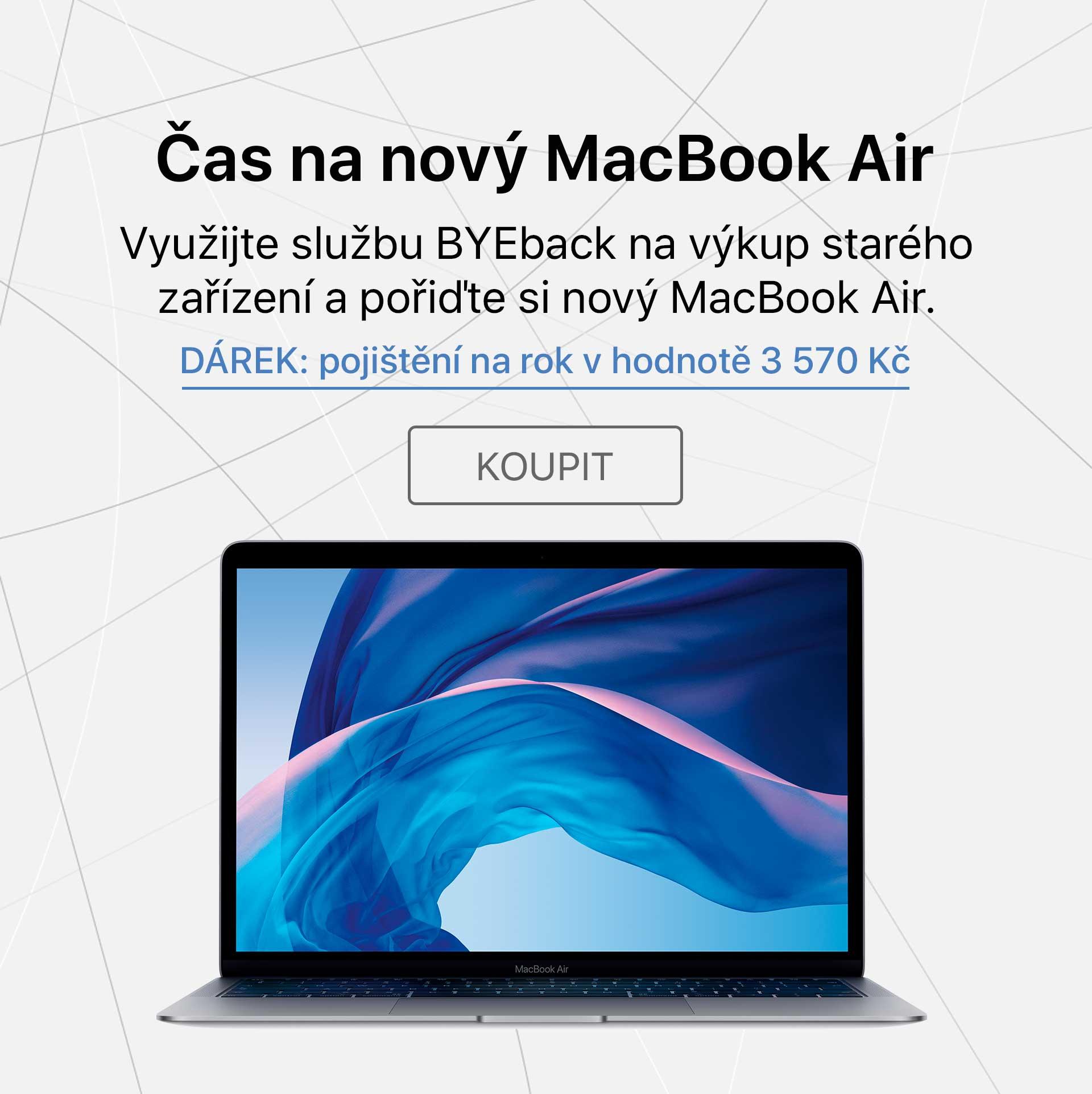 MacBook Air + pojisteni