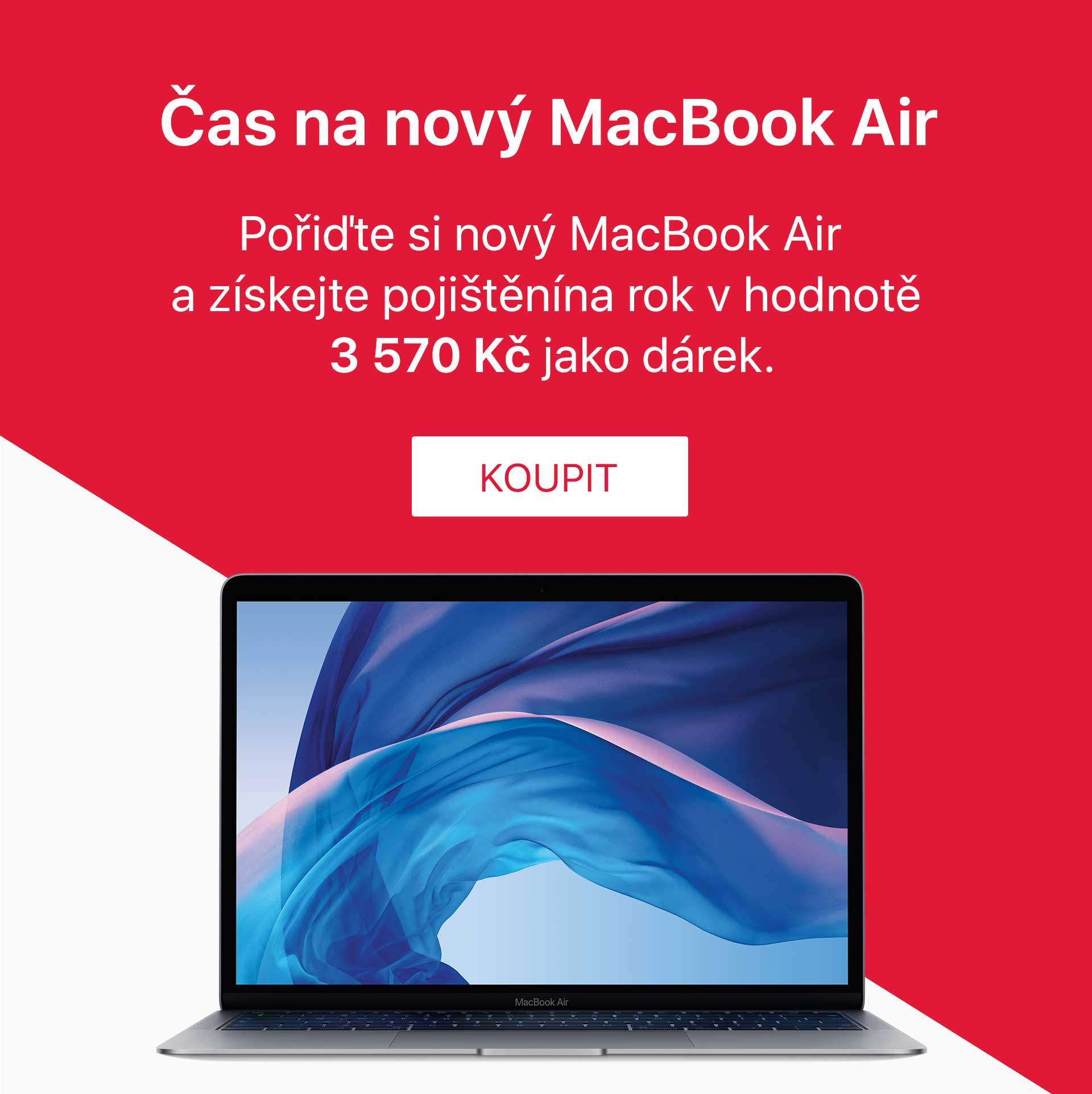 MacBook Air + pojisteni