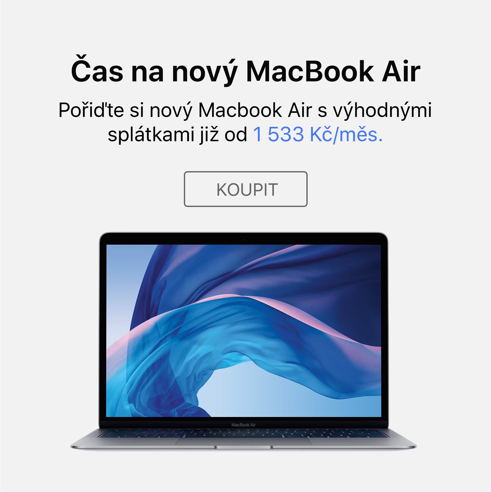MacBook Air splátky