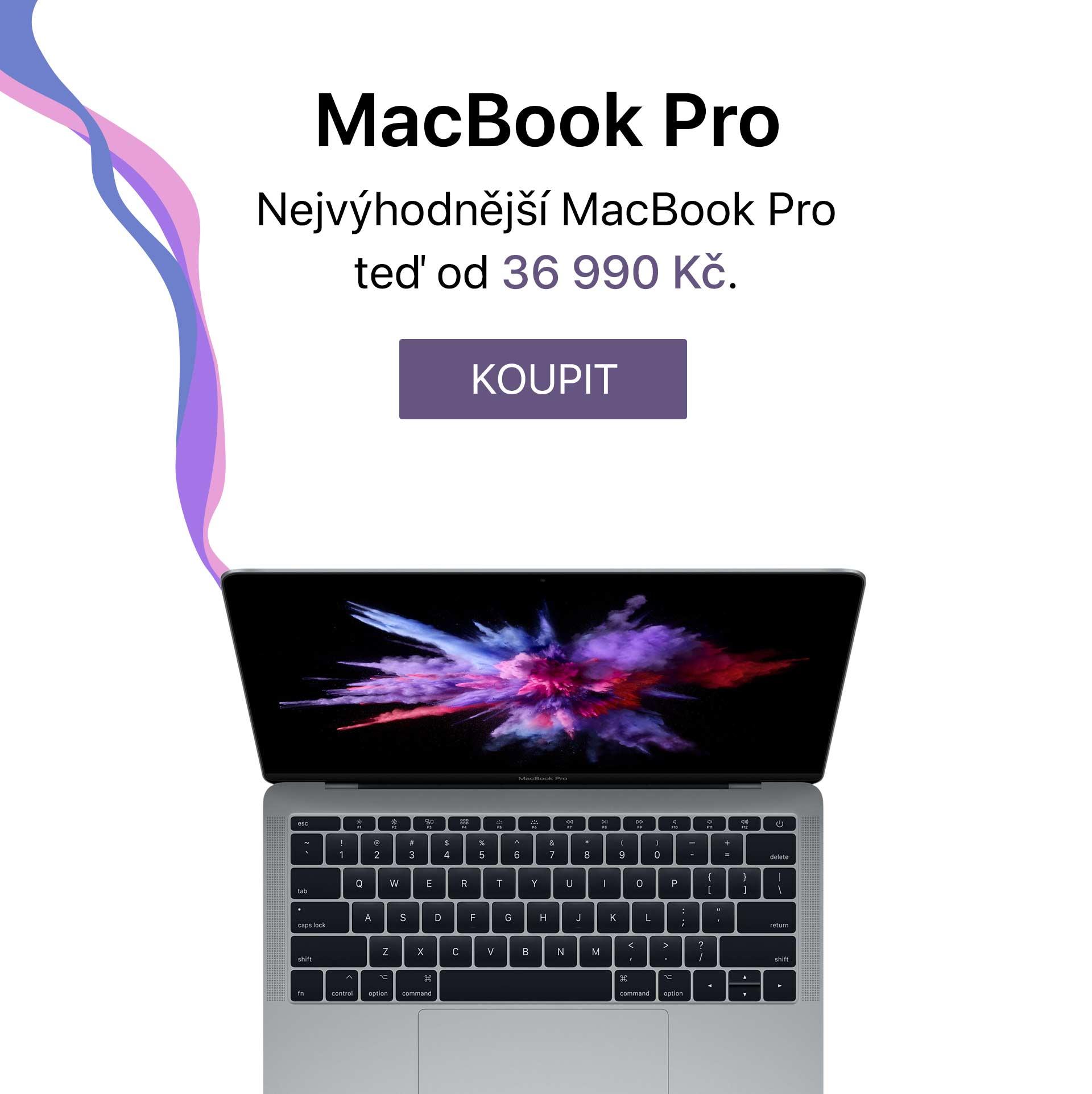 CZ Nejvýhodnější MacBook Pro