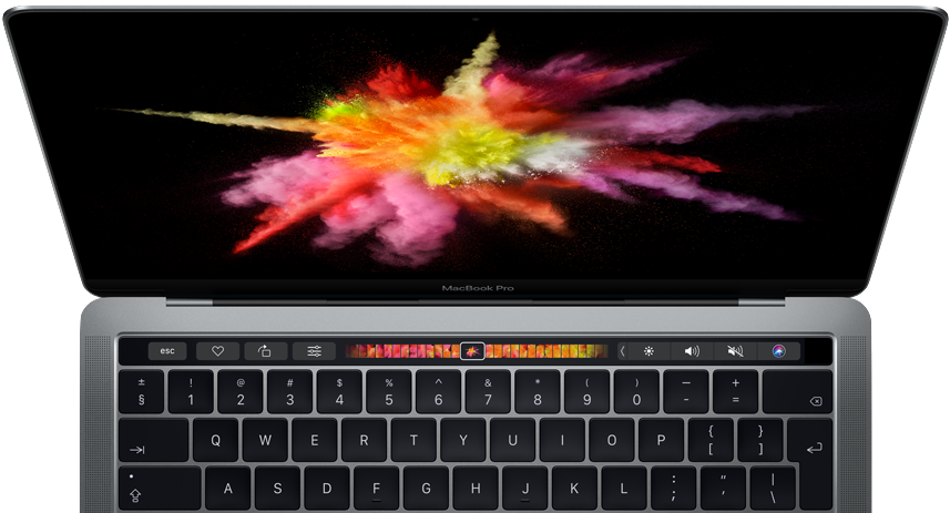 Touch Bar a Touch ID
