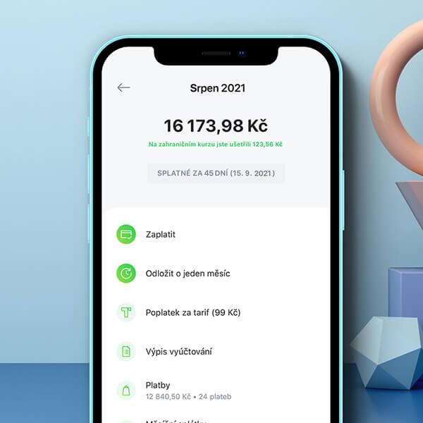 Díky Twistu máš přehledný účet v appce i na webu