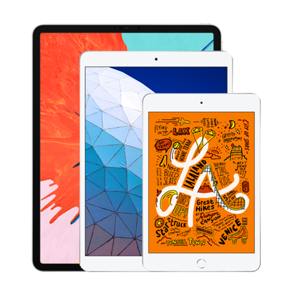 Porovnání iPadů
